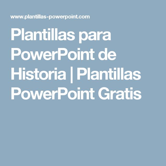 Plantillas para PowerPoint de Historia | Plantillas PowerPoint ...