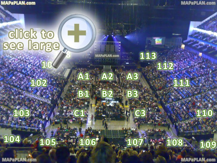 The O2 Arena London Seating Plan Virtual Tour With 360