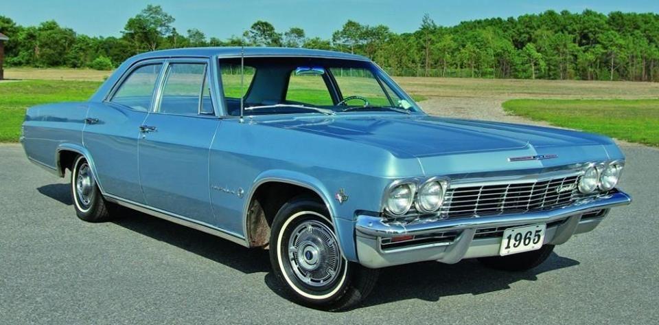 1965 Chevrolet Impala 4 Door Sedan 327 Powerglide Classic Cars Chevy Chevrolet Impala 1965 Chevy Impala