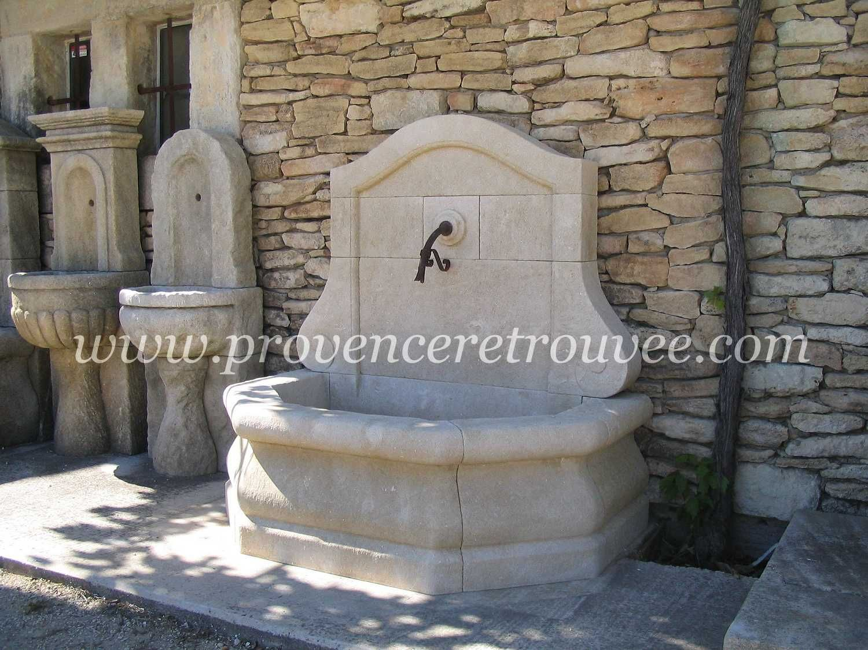 Fontaine extérieure en pierre pour jardin Toulouse fon06-128 ...