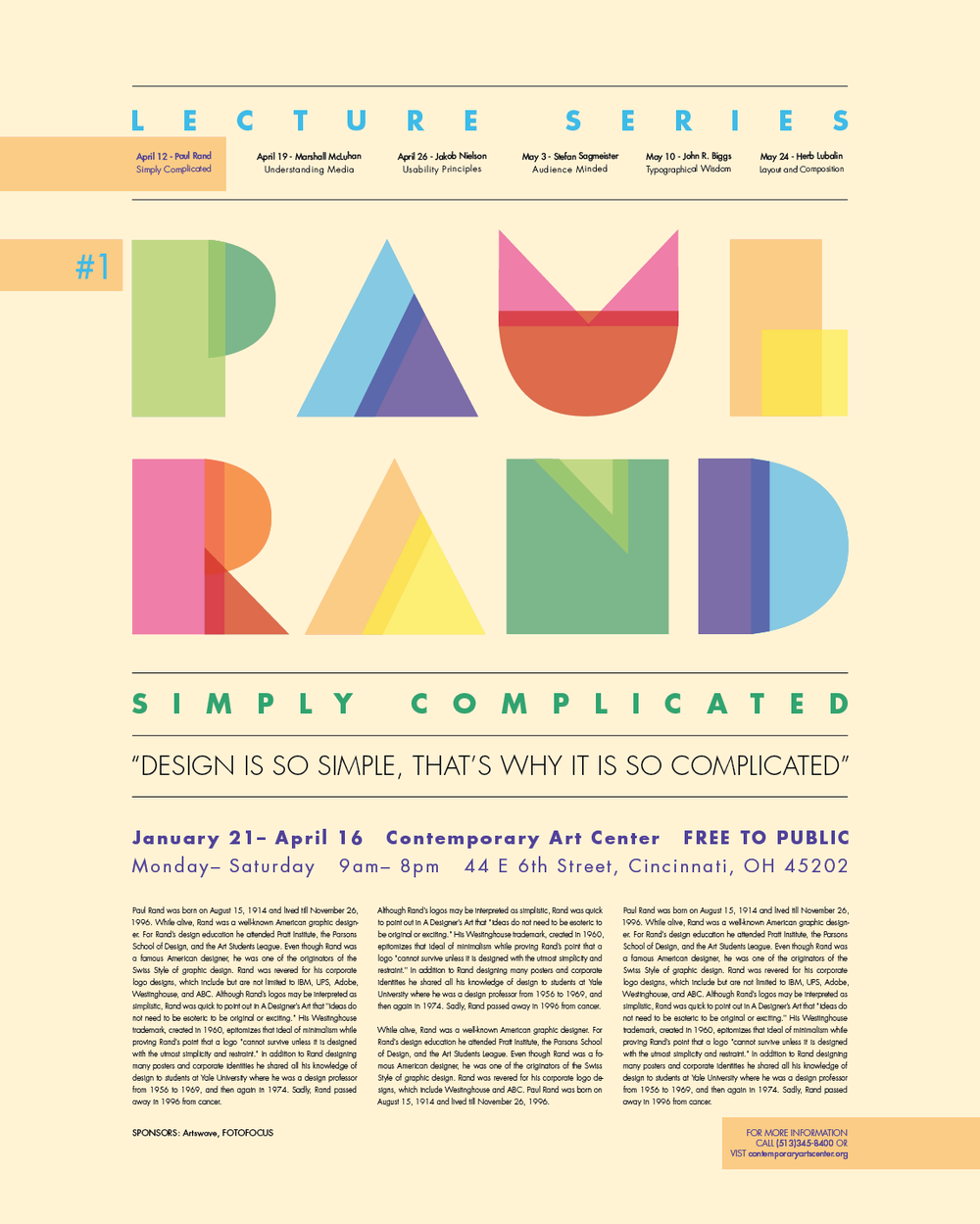 Free Resume Search Paul Rand Resume  Google Search  Clean Biz'  Pinterest