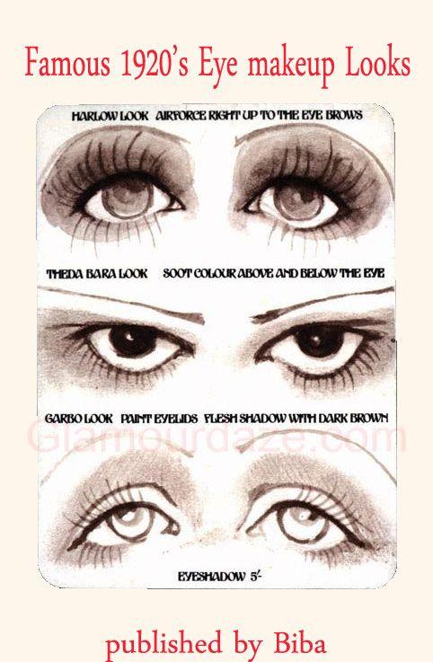 the history of 1920s makeup halloween pinterest makeup eye rh pinterest com