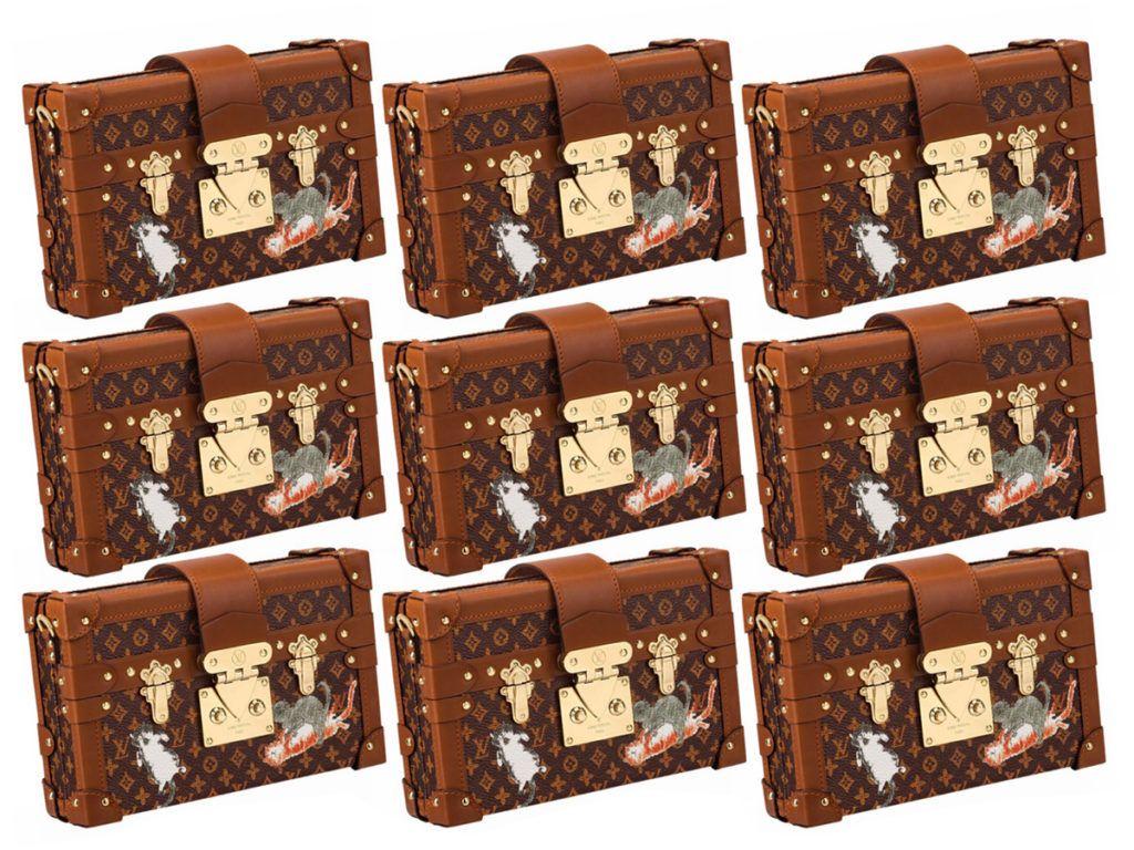f8eab5dd3ba2 Louis Vuitton X Grace Coddington Catogram Collection