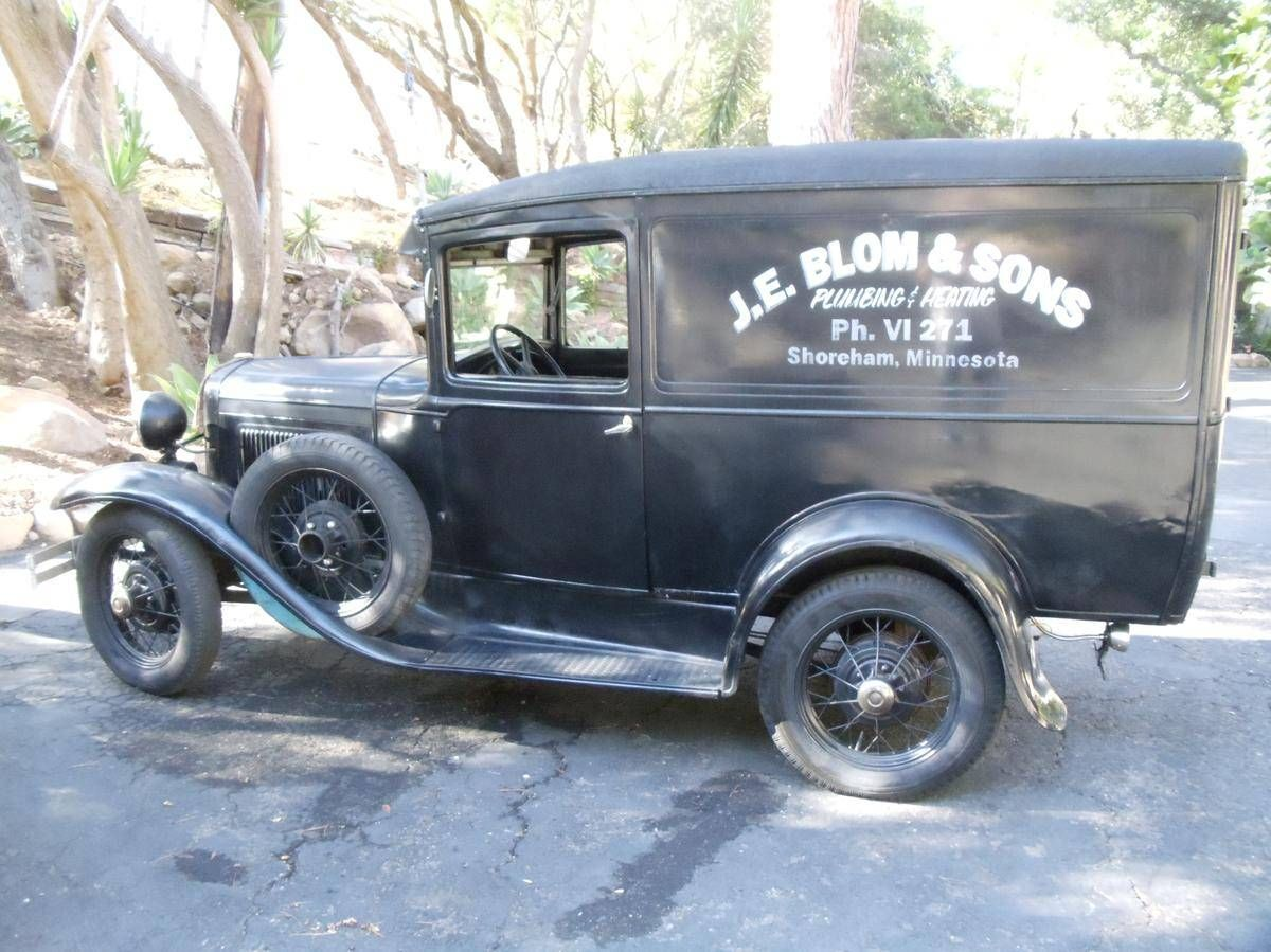 1930 Ford Model A Van - | Deliverys and Vans | Pinterest | Ford ...
