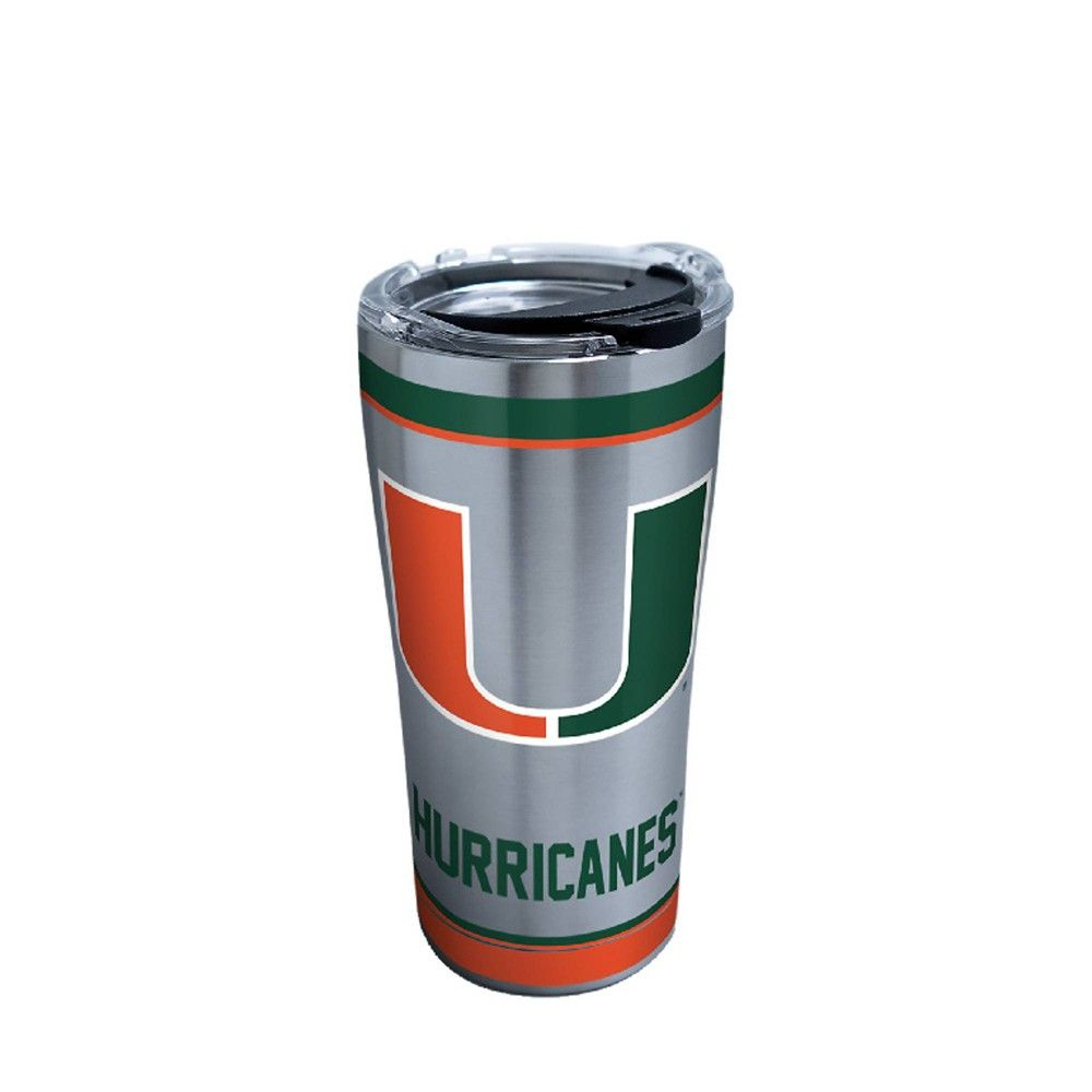 NCAA Miami Hurricanes Water Bottle 20oz in 2019 | Products