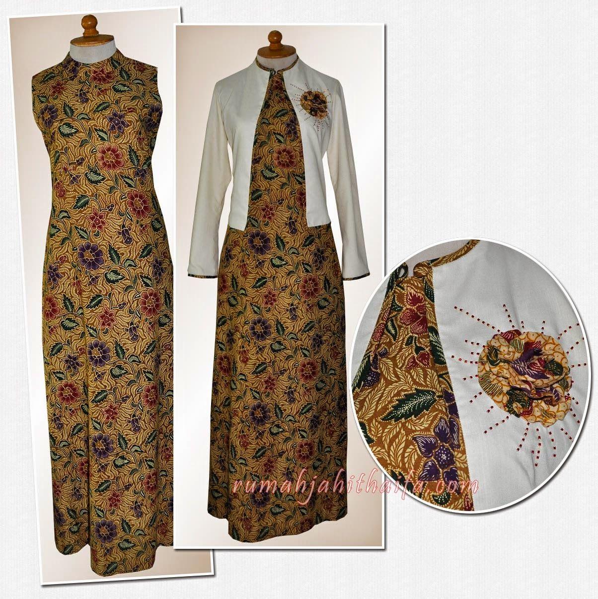 gamis-dan-blazer-Ibu-Listya.jpg (12×12)  Baju muslim, Gaya