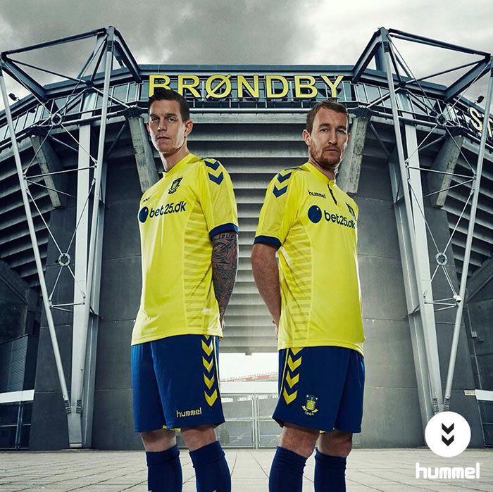 Brondby IF 2015 Hummel Home Kit