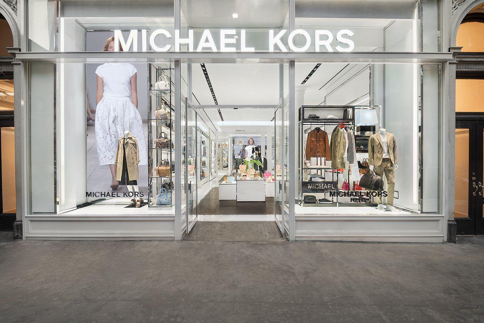 Michael Kors Store   Online shop design