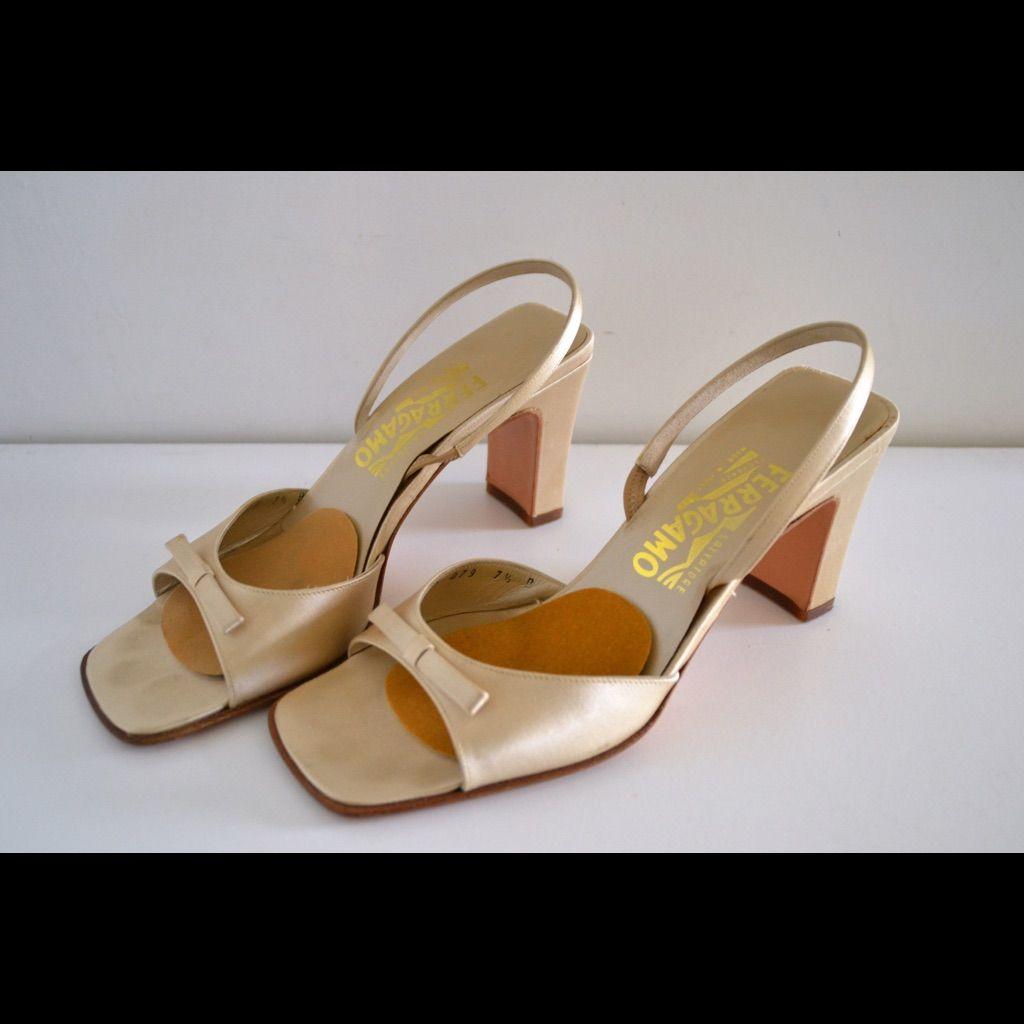 Beautiful Salvatore Ferragamo Heeled Sandals!