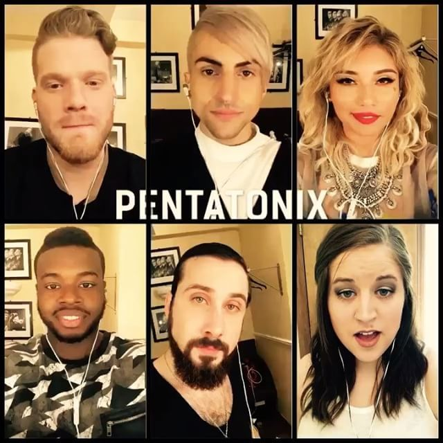 Thrilled to sing with Pentatonix!! PTXAcapellaContest