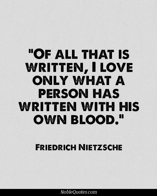 Nietzsche Quotes Friedrich Nietzsche Quotes  Httpnoblequotes  Think About