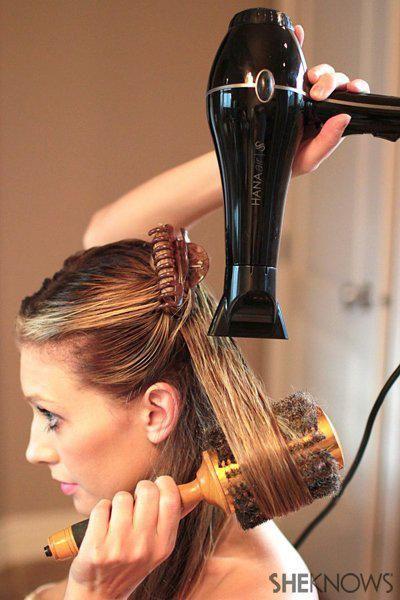 Diy Brazilian Blowout Sleek Straight Hair At Home Blow Dry Hair Blow Dry Hair For Volume Straight Hairstyles