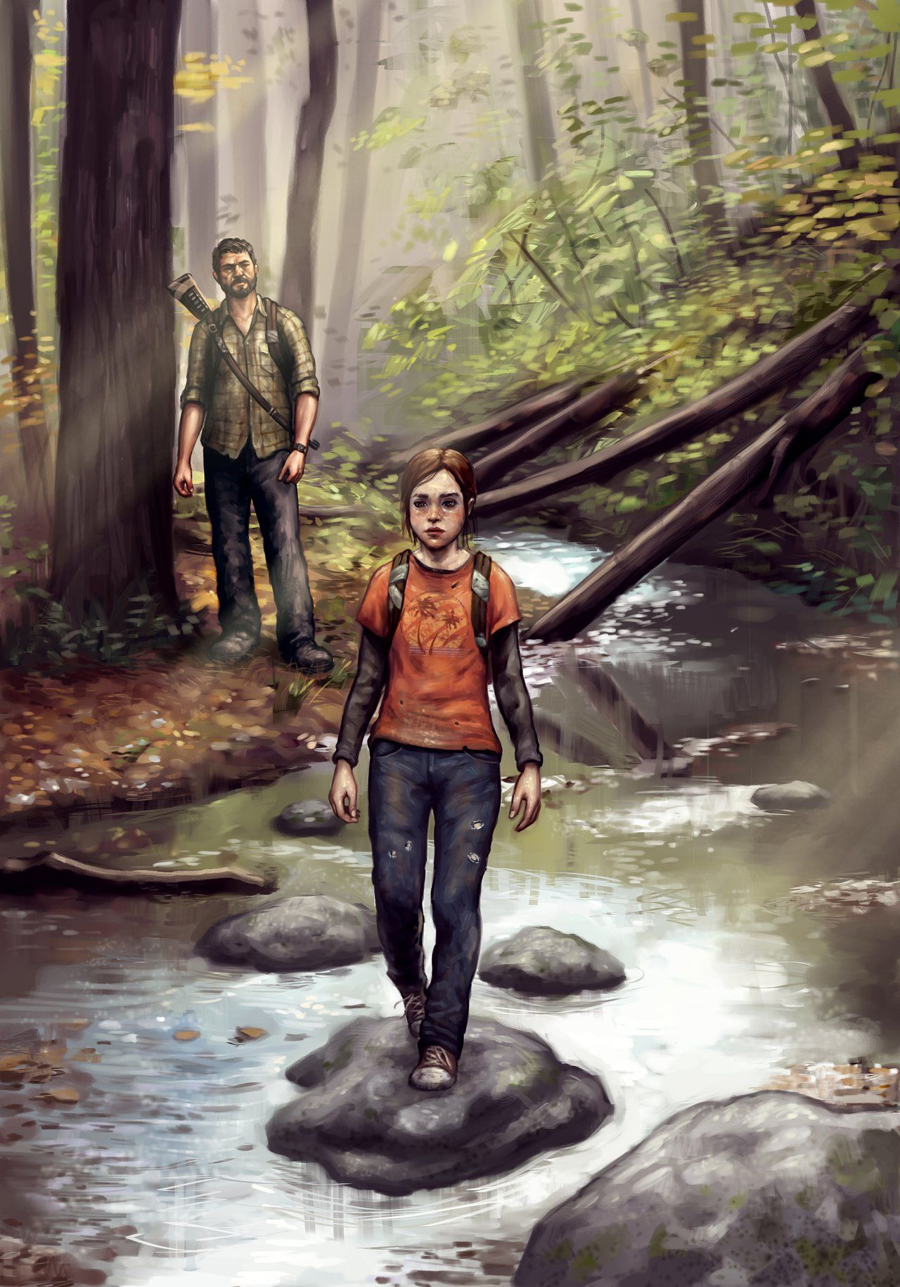 The Last Of Us Concept Art By Danielkarlsson On Deviantart The Last Of Us Concept Art Edge Of The Universe