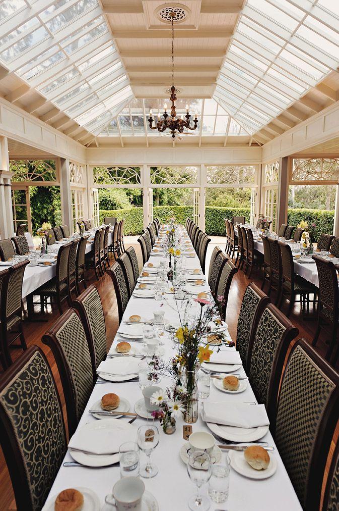 The Conservatory Gabbinar Homestead Toowoomba Gorgeous Venue