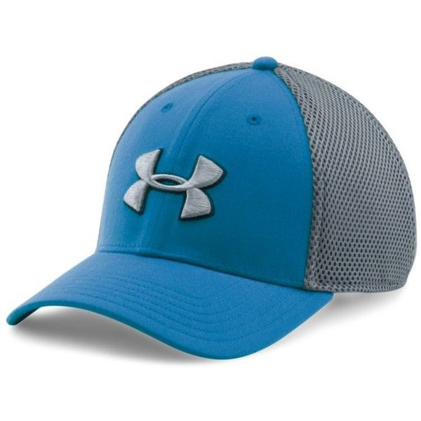 Under Armour Men s UA Golf Mesh Stretch 2.0 Cap ( 25) ❤ liked on Polyvore  featuring men s fashion c1aa899755c