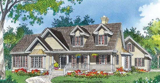 Home Plan The Beechwood by Donald A. Gardner Architects I think I ...