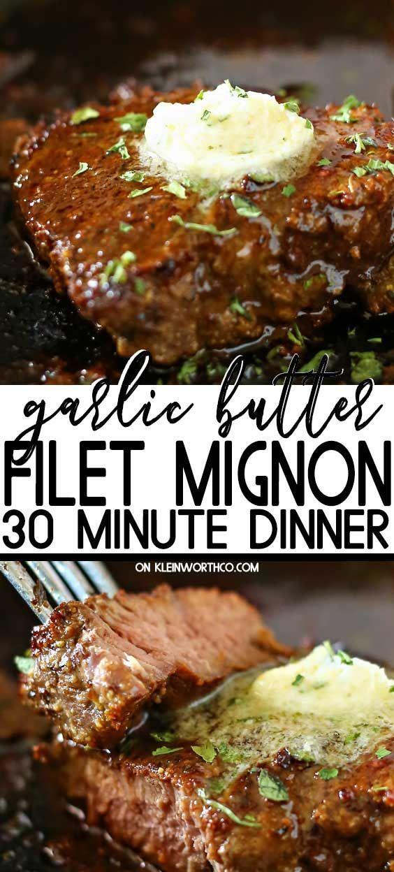 Photo of Garlic Butter Filet Mignon