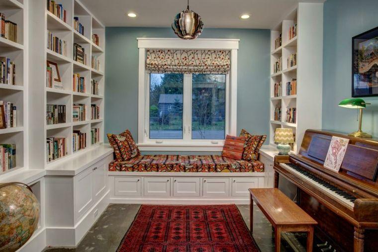 appui de fen tre que faire de l 39 espace au rebord de la fen tre reading nook pinterest. Black Bedroom Furniture Sets. Home Design Ideas
