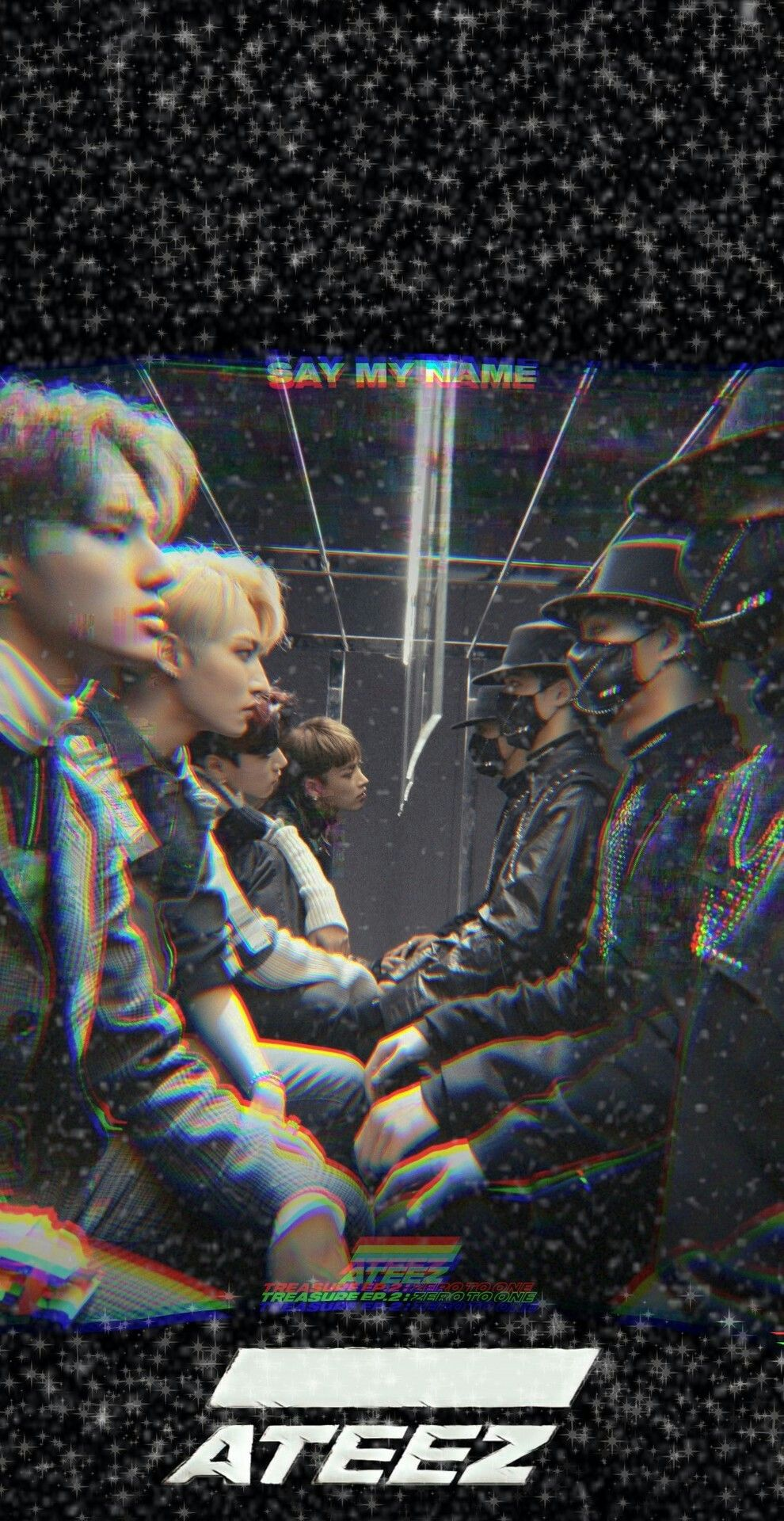 Ateez Kpop Wallpaper lockscreen fondo de pantalla HD