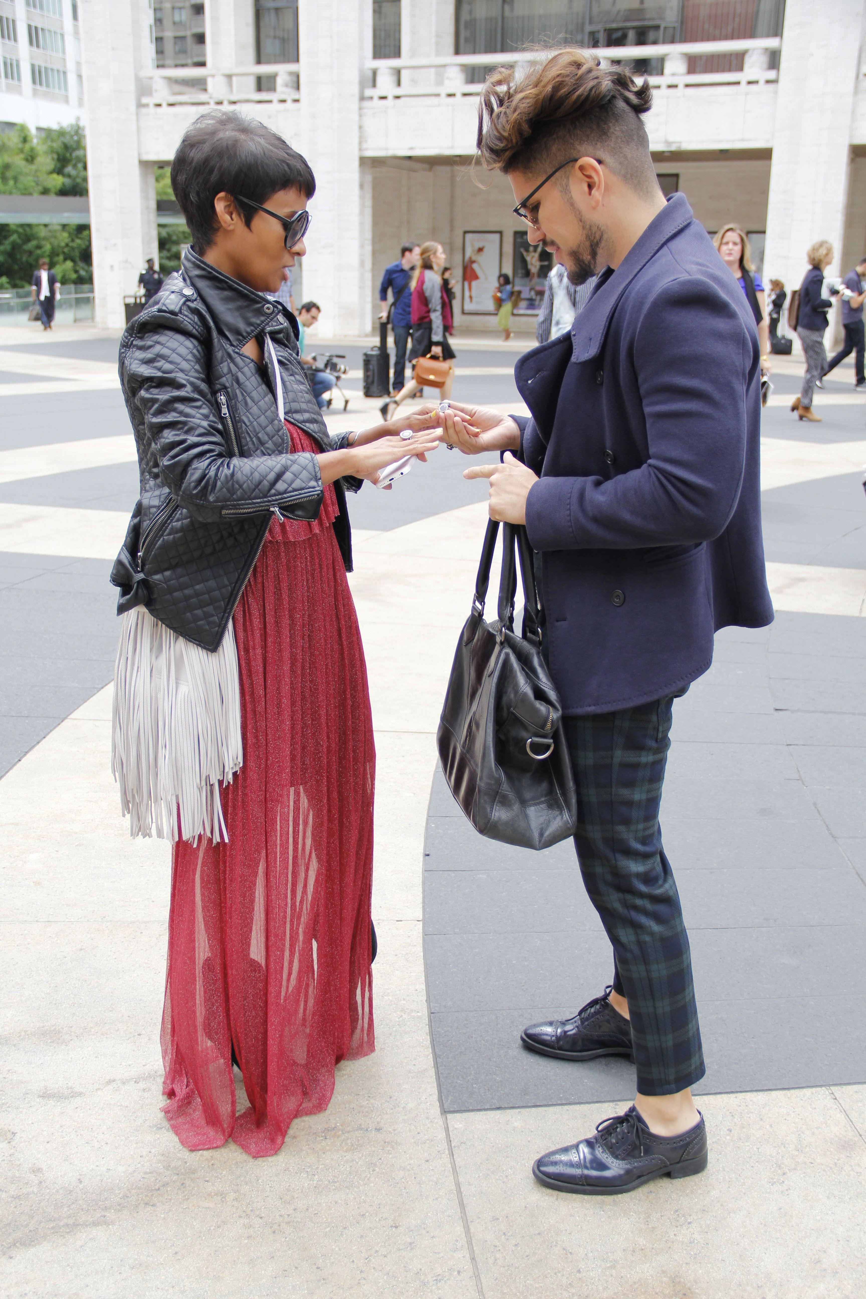 Between Bloggers: Kyrzayda Rodriguez & Andy Duran   NYFW ...