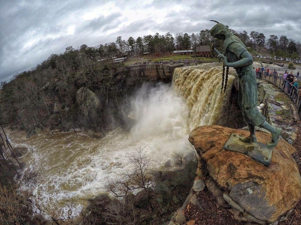 Noccalula Falls in Gadsden, AL. Such a memorable spot for me. We ...