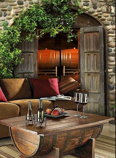 Classic Tuscany Themed Living Room Decor