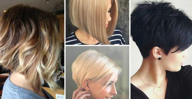 Modne Krótkie Fryzury 2019 Duży Przegląd Zdjęć Włosy