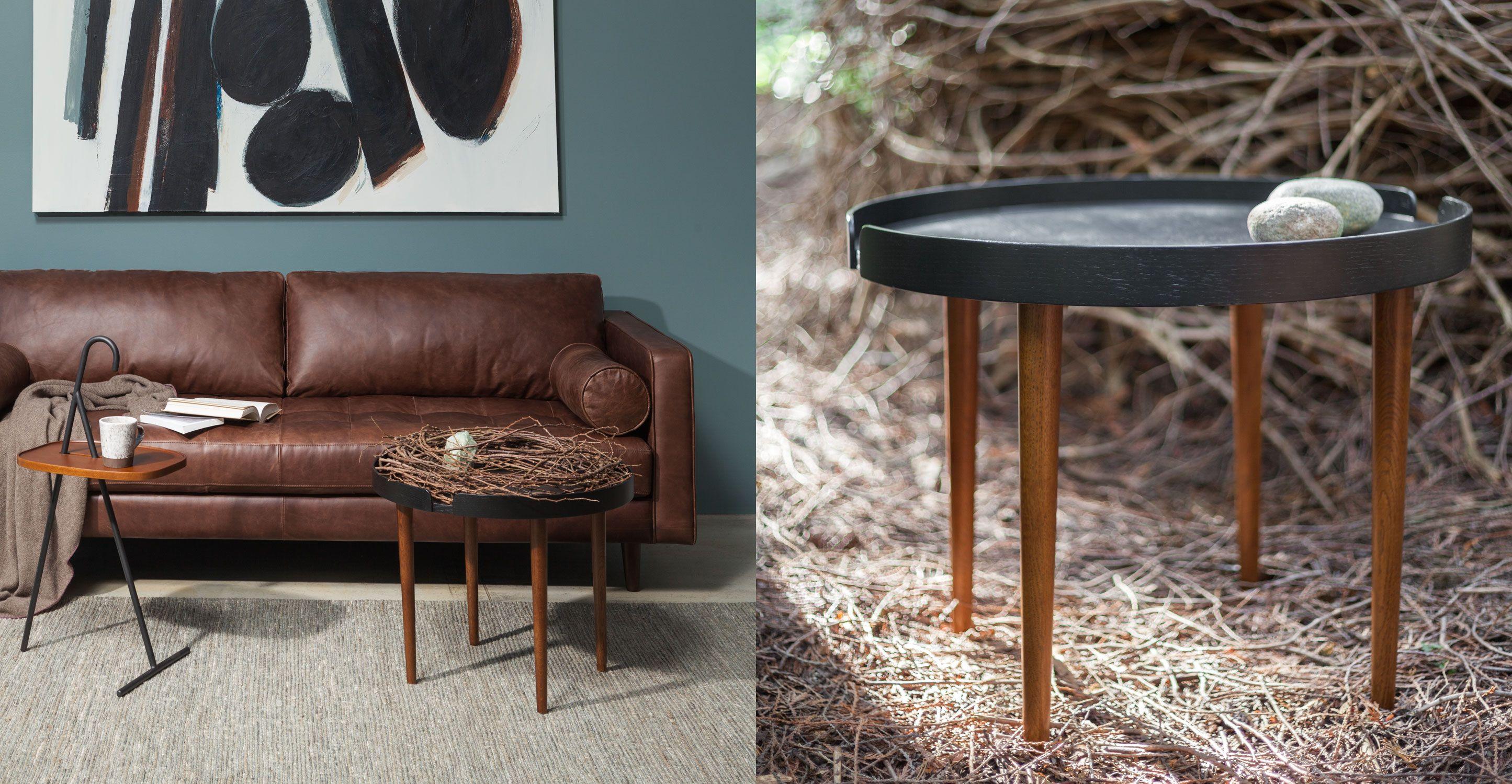 Trei Black X2f Walnut Coffee Table Coffee Table Mid Century Modern Coffee Table Walnut Coffee Table [ 1500 x 2890 Pixel ]