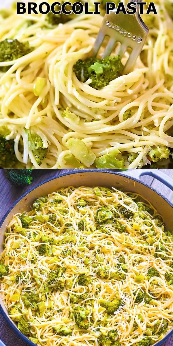 Brokkoli-Nudeln   - COOKTORIA'S VIDEO RECIPES - #BrokkoliNudeln #COOKTORIAS #homemadedrinks #Recipes #Video #fruitsmoothie