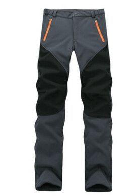 Outdoor Sport Windproof Waterproof Soft Climbing Ski Pants Women Men Winter Warm