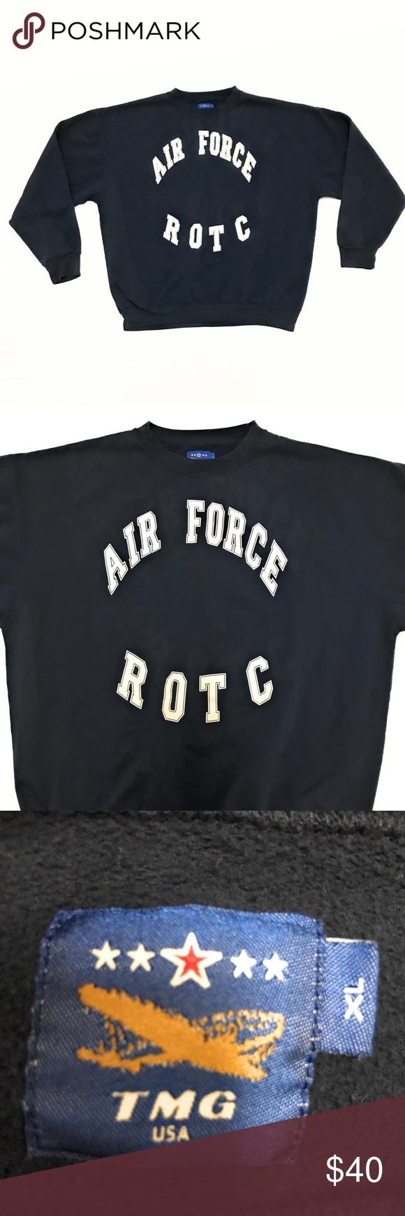Vintage 90s Military Air Force Jrotc Sweatshirt Vintage 90s Military Air Force Jrotc Sweatshirt Men S Size Xl Arm Sweatshirts Sweatshirt Shirt Mens Sweatshirts [ 1740 x 580 Pixel ]