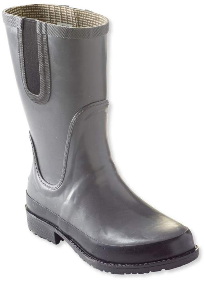 57b2f486490 Women's L.L.Bean Wellies® Rain Boots, Mid | Products | Wellies rain ...
