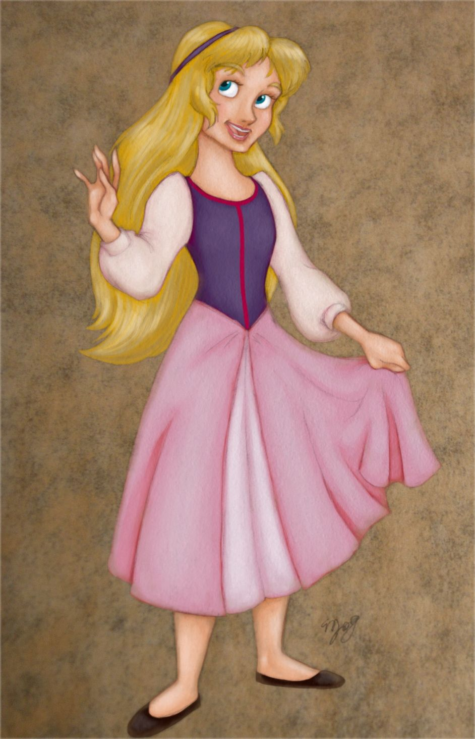 Princess eilonwy shes so cute w disney black cauldron 1985 princess eilonwy shes so cute altavistaventures Image collections