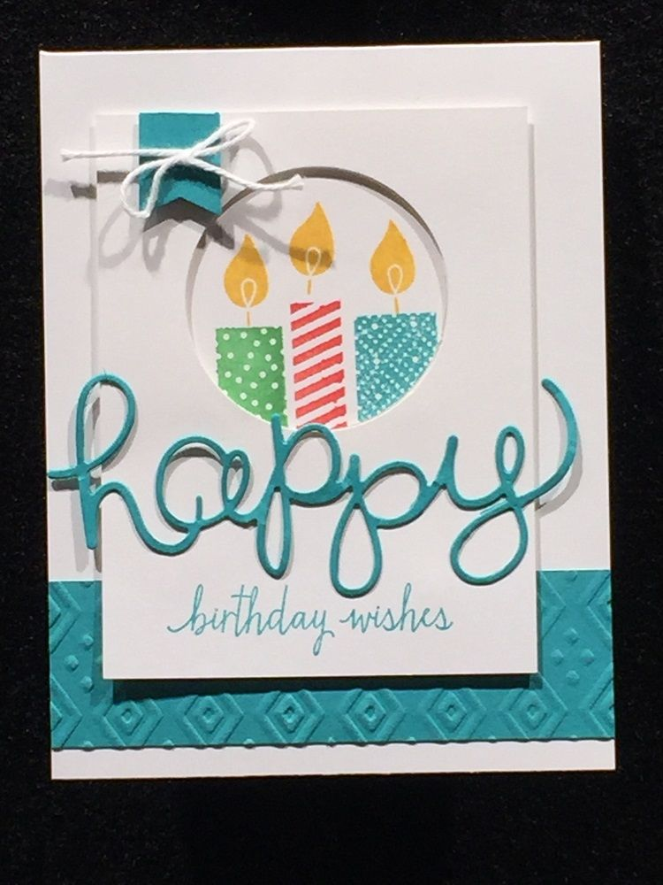 Stampin Studio Stampin Up Build A Birthday Hello You Thinlits
