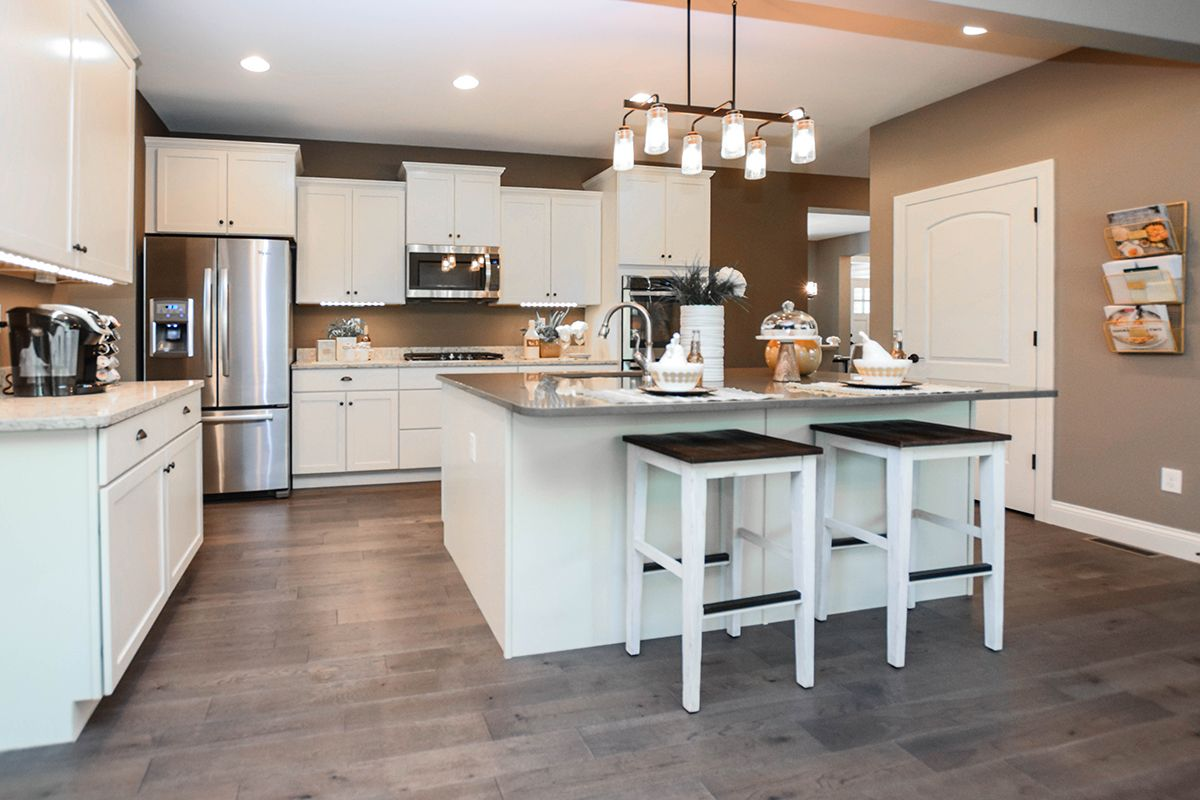 The Bridgeport Kitchen A Rolwes Co Home At Brookfield