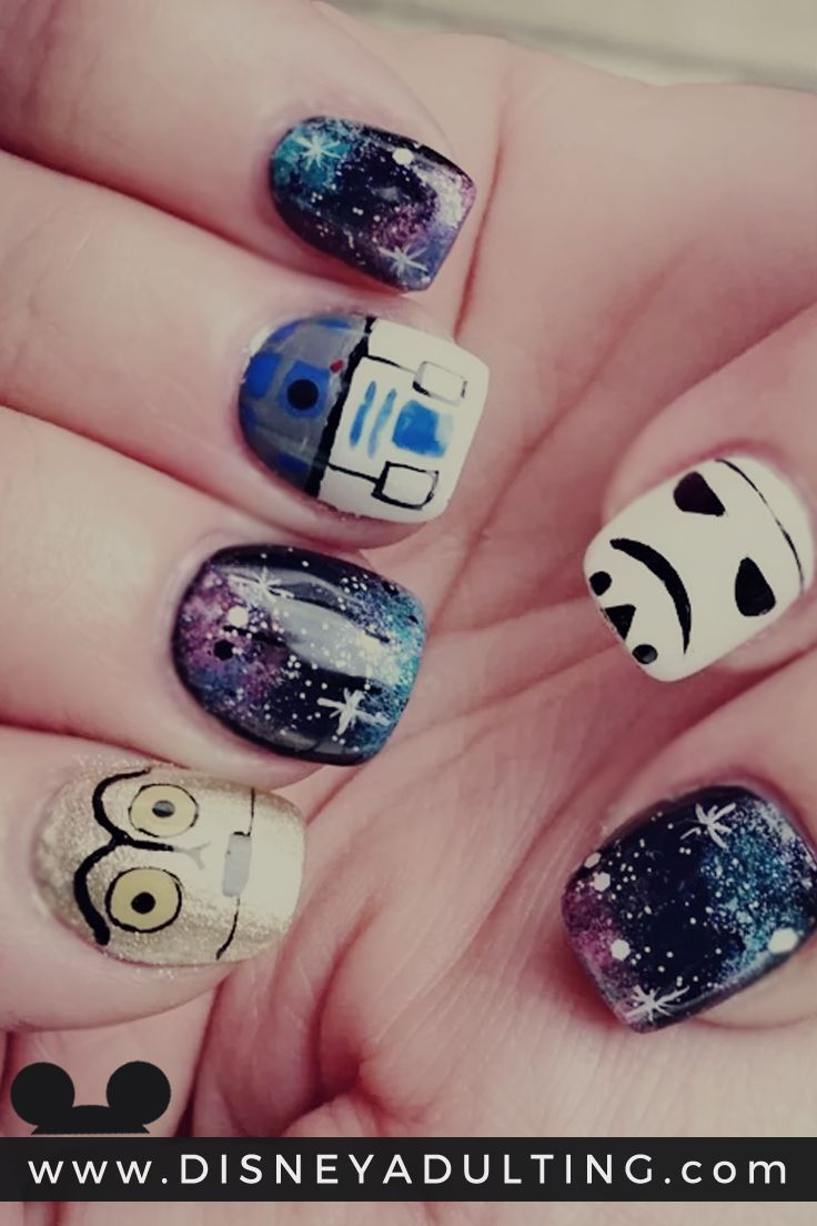 Star Wars Nail Designs that are One