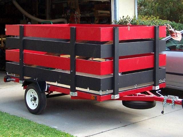 From The Little Red Trailer Site Utility Trailer Landscaping