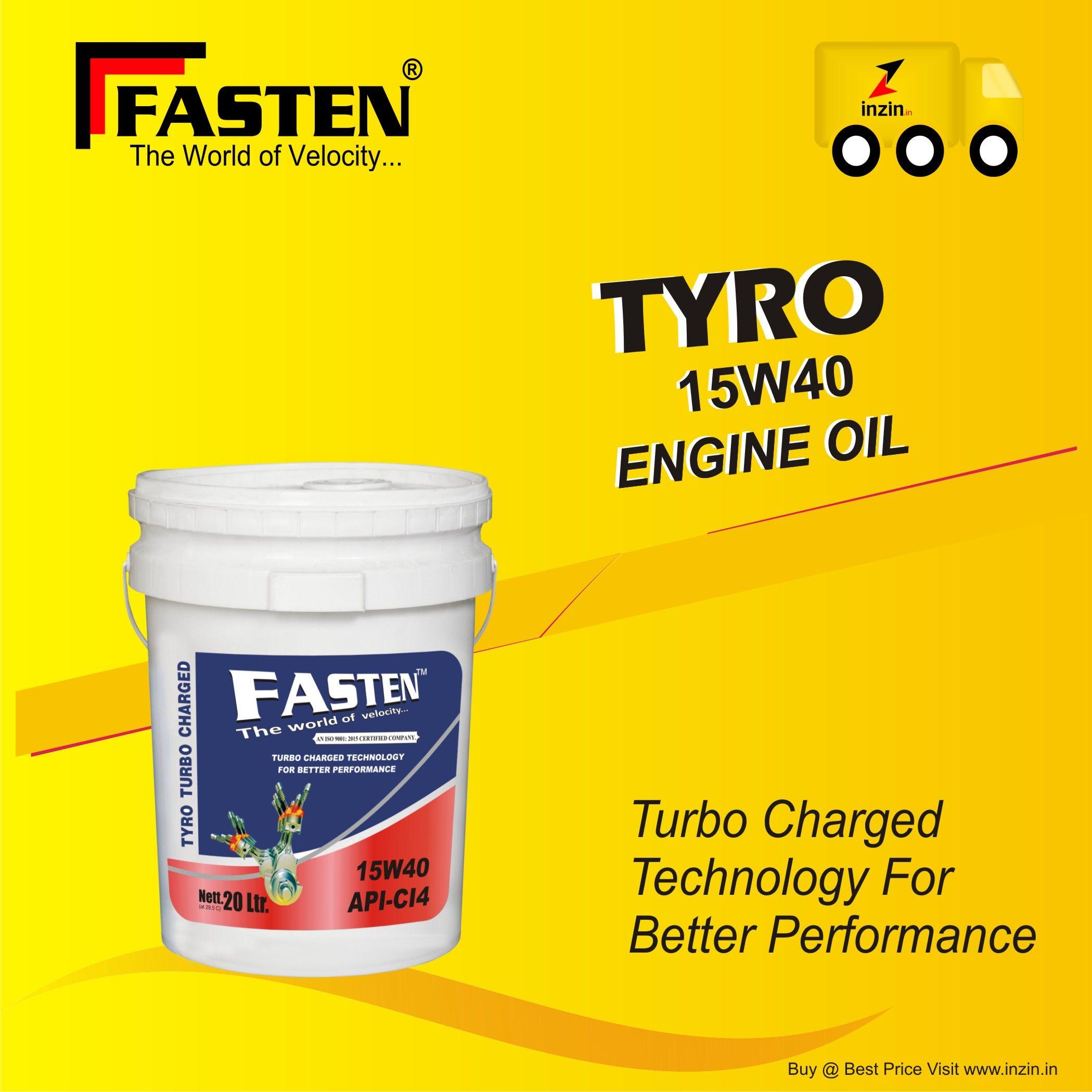 Tyro 15w40 is Heavy duty engine oil 15w40 multi grade diesel