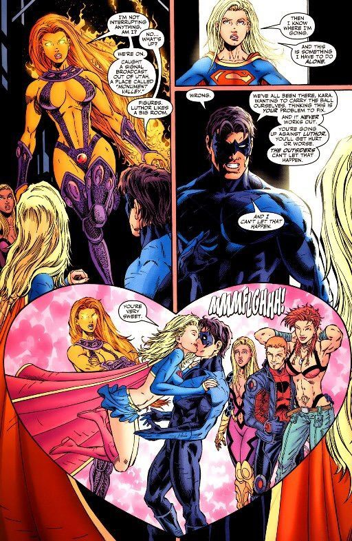 Image Result For Nightwing And Supergirl  Grayson -5140