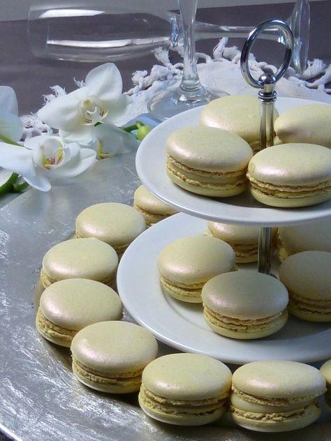 Macarons mit Champagner Ganache