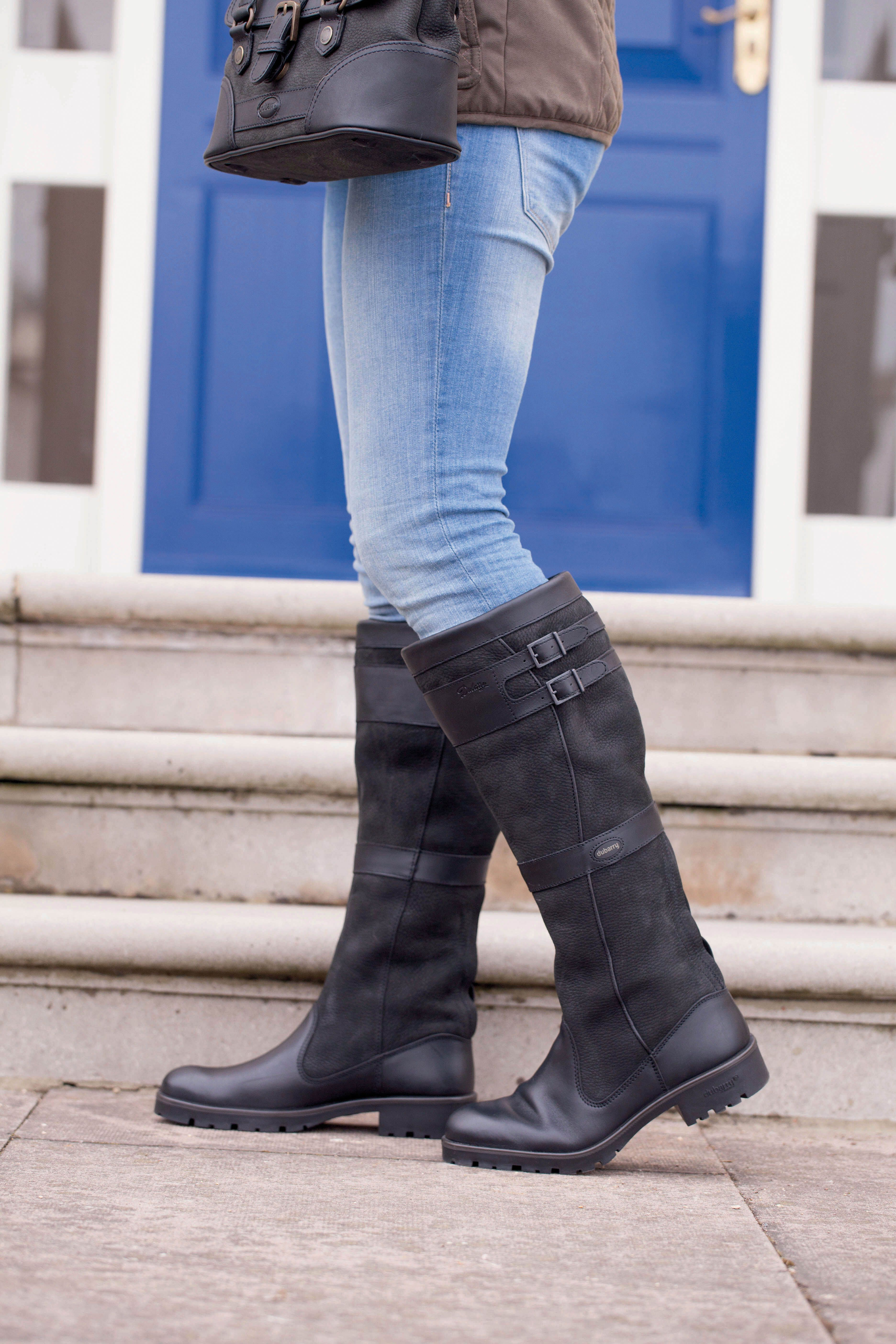 Longford Tall Boot In Black By Dubarry Of Ireland All