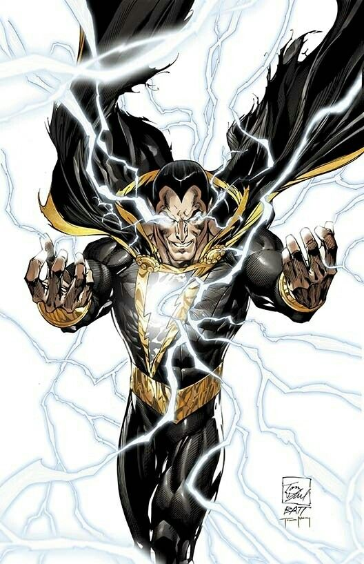 Black Adam In New 52 Continuity The First Character To Have Powers Of SHAZAM