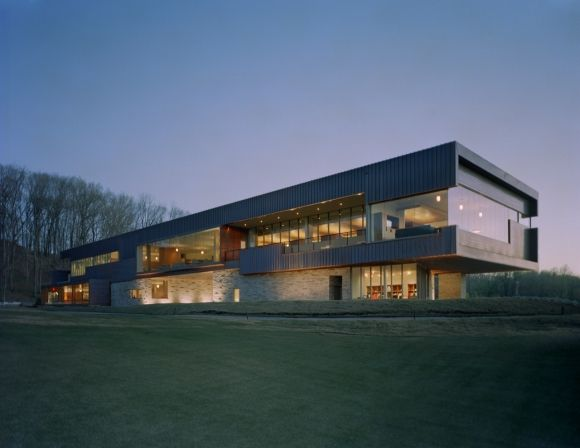 Edificio para el Club de Golf Blessings en Fayetteville, Arkansas   Marlon Blackwell Architect