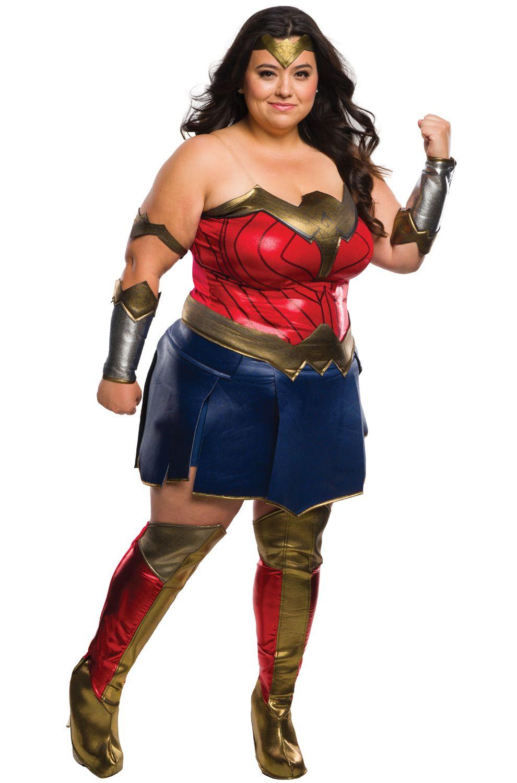 bvs deluxe wonder woman plus size costume   costumes, halloween