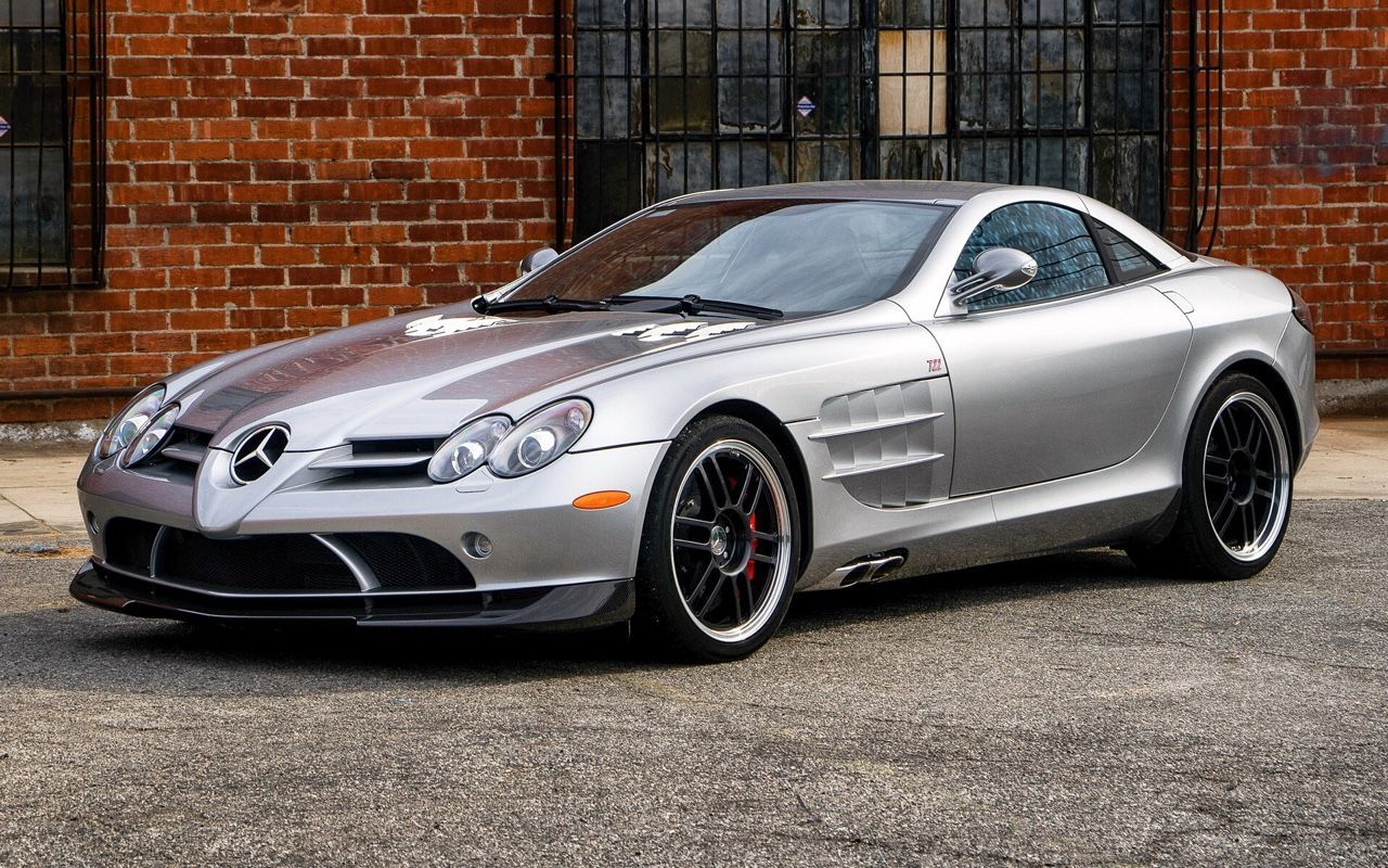 Check Out Katarina Vitazova S Mercedes Benz Slr 722 Edition Grab
