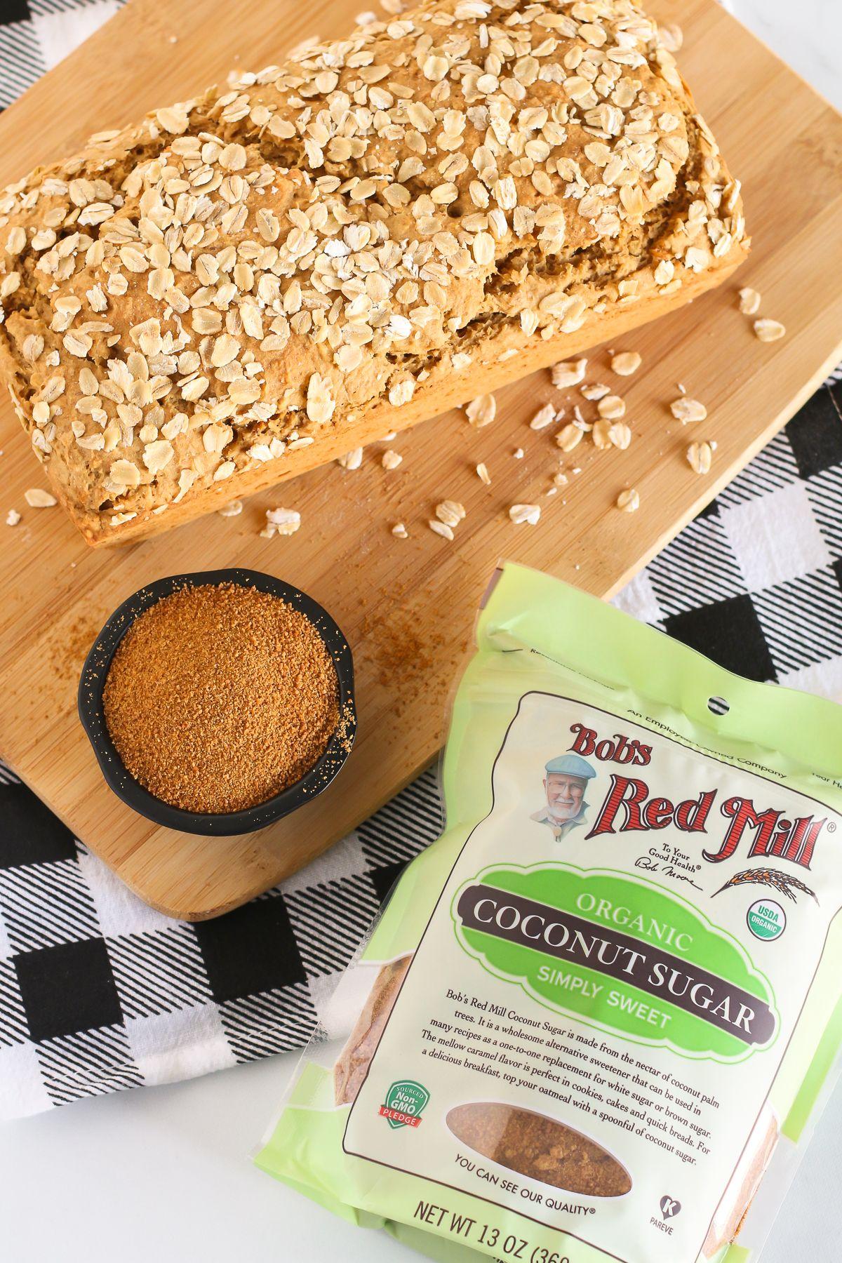 Gluten free vegan oatmeal quick bread Recipe Gluten