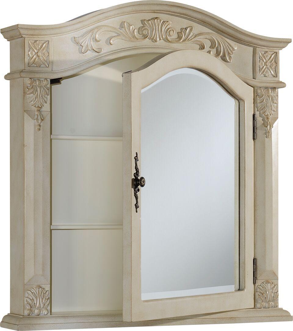 Medicine Cabinet Antique White