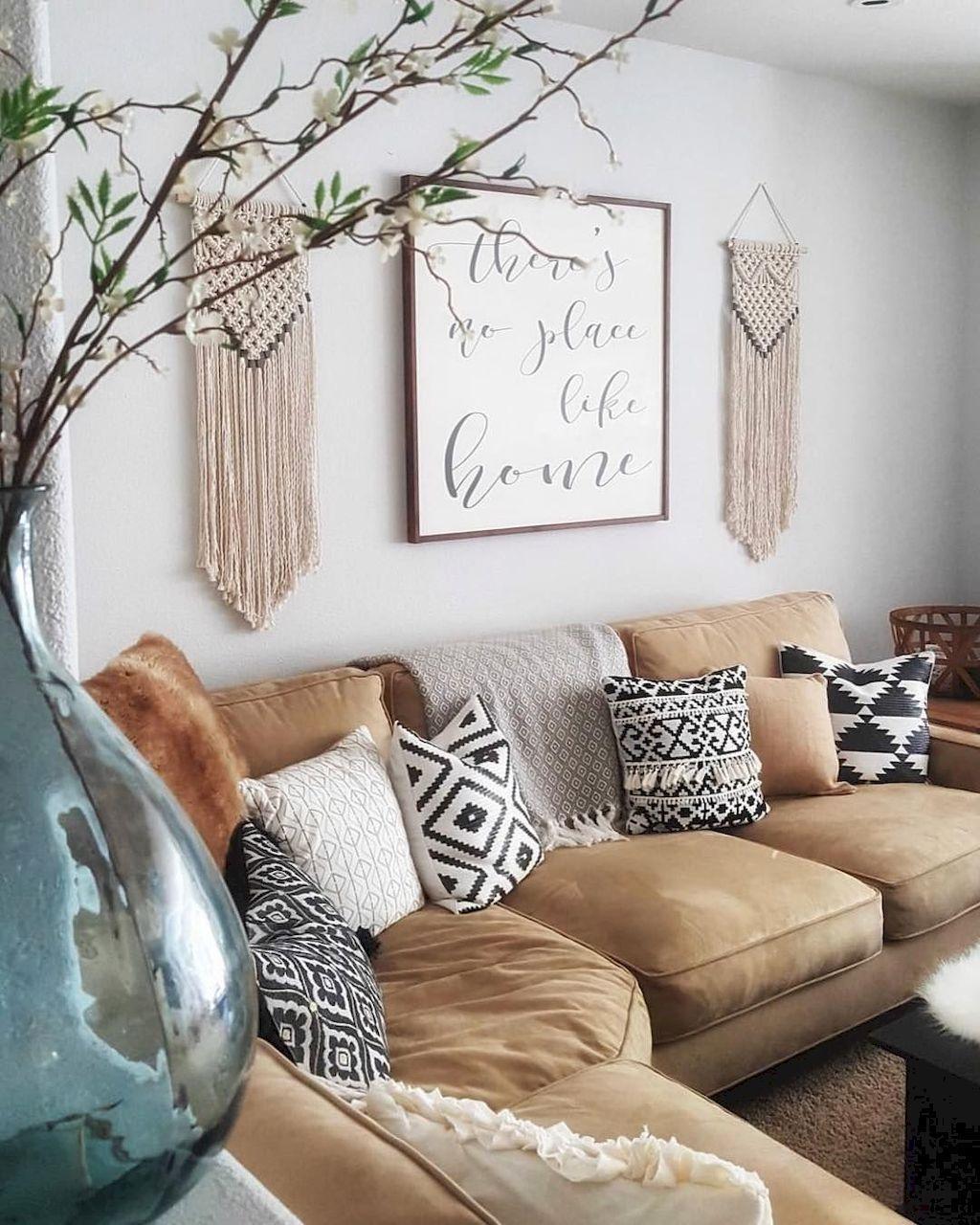 95 cozy modern farmhouse style living room decor ideas