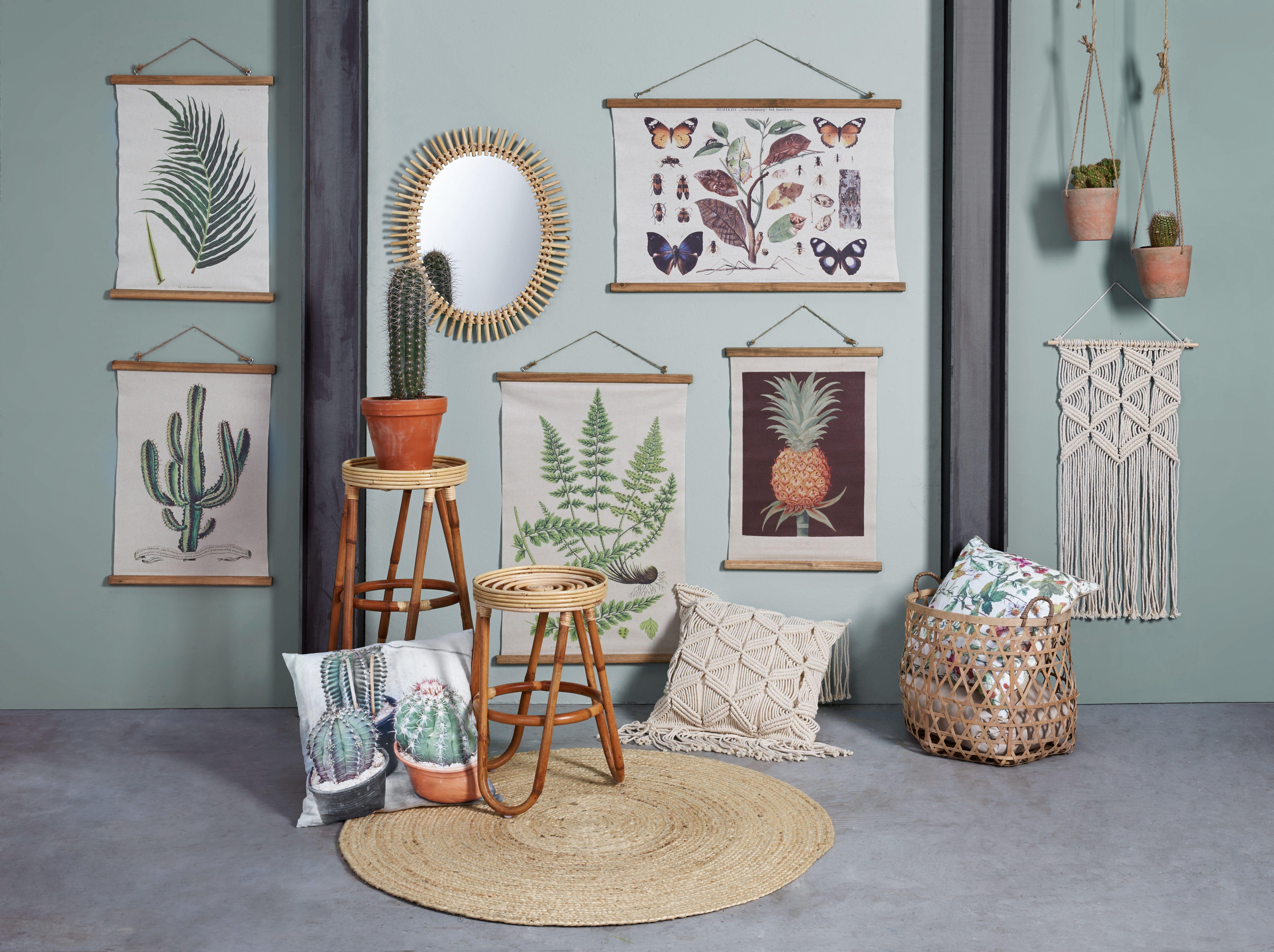 kies voor botanische prints en natuurlijke materialen botanisch urbanjungle
