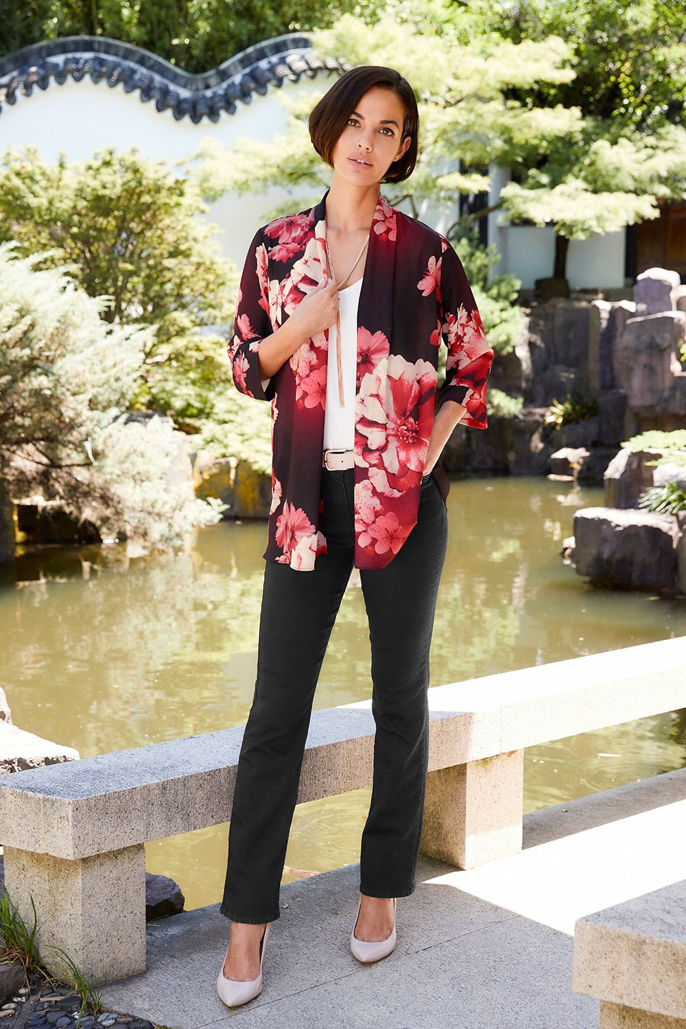 Buy How to floral wear printed jeans picture trends